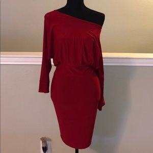 Venus Dress with open back detail